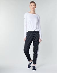 衣服 女士 厚裤子 adidas Performance 阿迪达斯运动训练 W ID 3S Snap PT 黑色