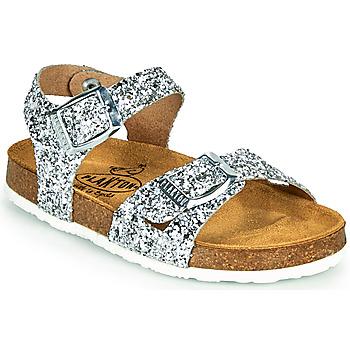 鞋子 女孩 凉鞋 Plakton LISA 银灰色