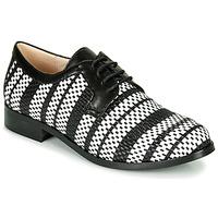 鞋子 女士 德比 Fericelli MILEYNE 黑色 / 和 / 白色