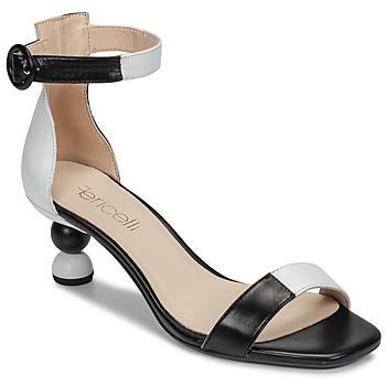 鞋子 女士 涼鞋 Fericelli MARC 黑色 / 和 / 白色