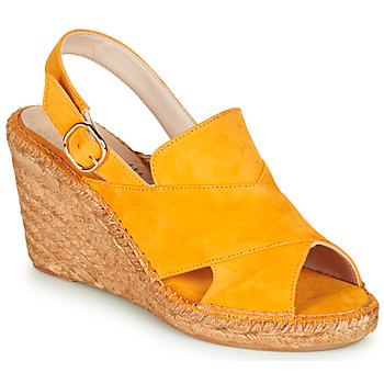 鞋子 女士 凉鞋 Fericelli MARIE 黄色