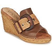鞋子 女士 休闲凉拖/沙滩鞋 Fericelli MELISSA 棕色