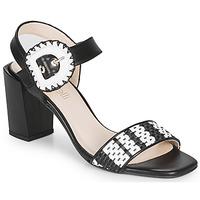 鞋子 女士 凉鞋 Fericelli MAIRA 黑色 / 和 / 白色