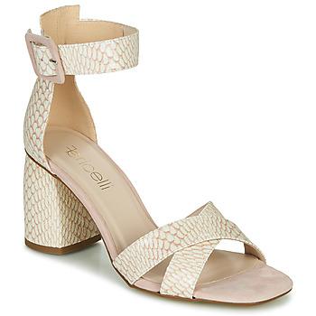 鞋子 女士 凉鞋 Fericelli JEZI 白色 / 玫瑰色