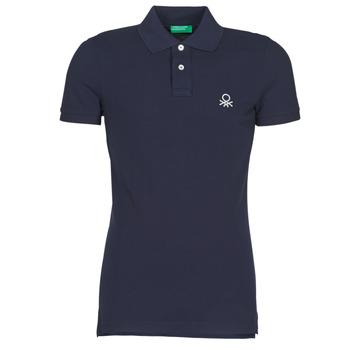 衣服 男士 短袖保罗衫 Benetton MARAKY 海蓝色