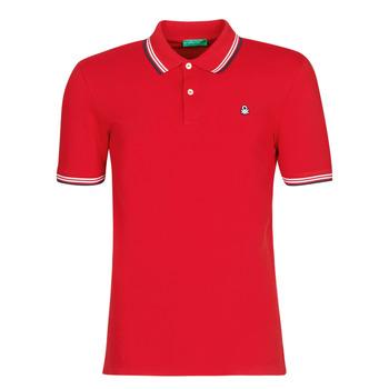 衣服 男士 短袖保罗衫 Benetton GUERY 红色