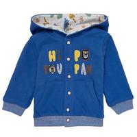 衣服 男孩 羊毛开衫 Catimini KELYNE 蓝色