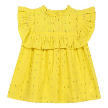 衣服 女孩 女士上衣/罩衫 Catimini MAINA 黄色