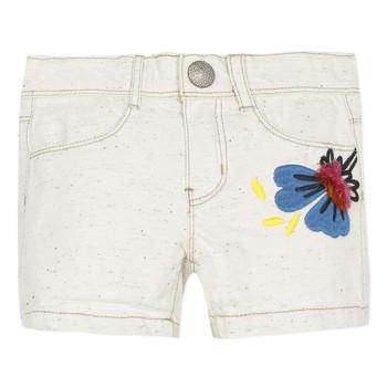 衣服 女孩 短裤&百慕大短裤 Catimini CAPUCINE 米色