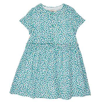 衣服 女孩 短裙 Catimini ELLA 绿色 / 蓝色