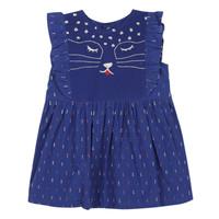 衣服 女孩 短裙 Catimini CHARLES 蓝色