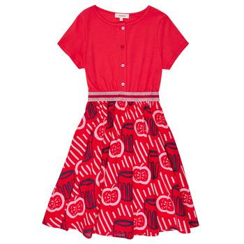 衣服 女孩 短裙 Catimini MANOA 紅色