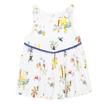 衣服 女孩 短裙 Catimini BIXENTE 白色