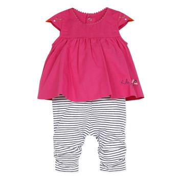 衣服 女孩 连体衣/连体裤 Catimini ALOIS 红色