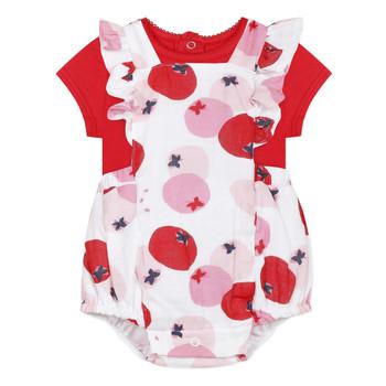 衣服 女孩 女士套装 Catimini LUCIEN 红色