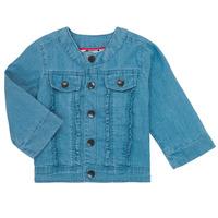 衣服 女孩 夾克 Catimini ELIOTT 藍色