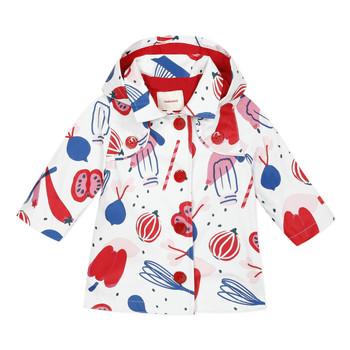 衣服 女孩 棉衣 Catimini THEOLIO 白色