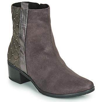 鞋子 女士 短筒靴 Caprice LINITANE 灰色