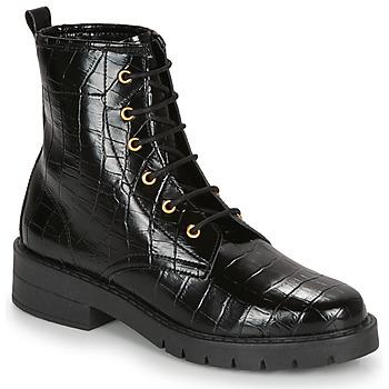 鞋子 女士 短筒靴 André NAGAMMA 黑色