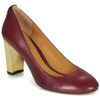 鞋子 女士 高跟鞋 Lauren Ralph Lauren 802688958-004 波尔多红