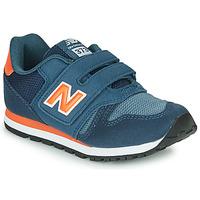 鞋子 儿童 球鞋基本款 New Balance新百伦 YV373KN-M 蓝色 / 红色