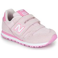 鞋子 儿童 球鞋基本款 New Balance新百伦 YV373SP-M 玫瑰色