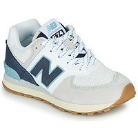 鞋子 球鞋基本款 New Balance新百伦 GC574SOU 白色 / 蓝色
