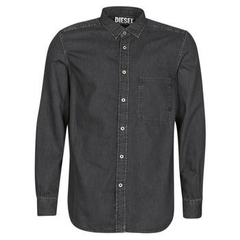 衣服 男士 长袖衬衫 Diesel 迪赛尔 D-BER-P 黑色
