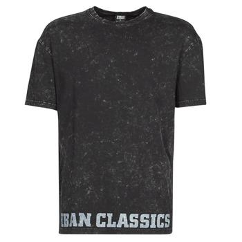 衣服 男士 短袖体恤 Urban Classics TOBI 黑色