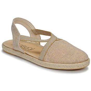 鞋子 女士 凉鞋 Casual Attitude MISSA 米色 / 金色