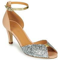 鞋子 女士 凉鞋 Emma Go JOLENE GLITTER 玫瑰色 / 银灰色 / 金色