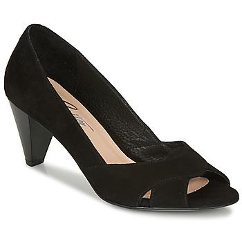 鞋子 女士 高跟鞋 Betty London MIRETTE 黑色 / Suede