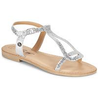 鞋子 女士 凉鞋 Betty London MISSINE 银灰色