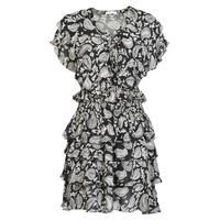 衣服 女士 短裙 Replay  黑色 / 白色
