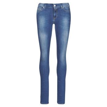 衣服 女士 牛仔铅笔裤 Replay LUZ 蓝色 / Fonce