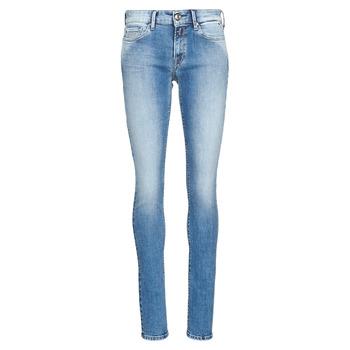 衣服 女士 牛仔铅笔裤 Replay LUZ 蓝色 / Edium