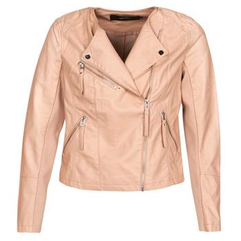 衣服 女士 皮夹克/ 人造皮革夹克 Vero Moda VMRIA FAV 玫瑰色