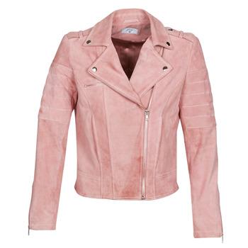 衣服 女士 皮夹克/ 人造皮革夹克 Betty London MARILINE 玫瑰色