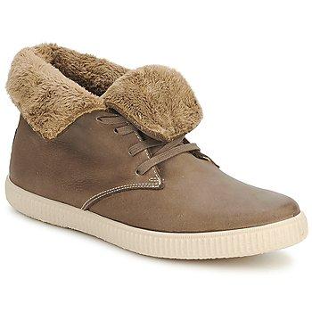 鞋子 高帮鞋 Victoria 维多利亚 SAFARI ALTA PIEL TINTADA PELO 灰褐色