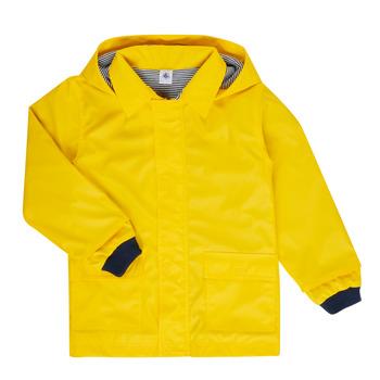 衣服 儿童 棉衣 Petit Bateau 小帆船 FATAH 黄色