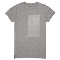 衣服 女孩 短袖体恤 Esprit 埃斯普利 EVELYNE 灰色