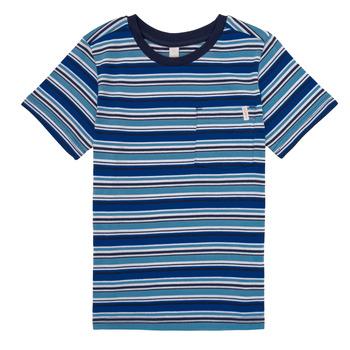 衣服 男孩 短袖体恤 Esprit 埃斯普利 ERNEST 蓝色