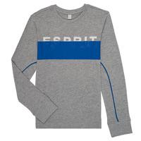 衣服 男孩 长袖T恤 Esprit 埃斯普利 FABIOLA 灰色