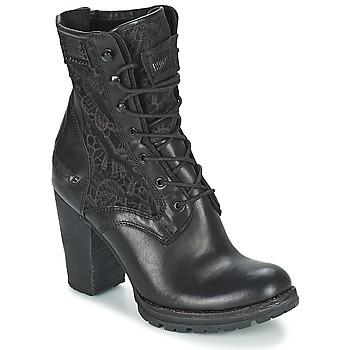 鞋子 女士 短靴 Bunker ACE MEGA 黑色