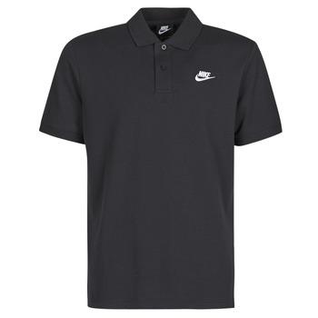 衣服 男士 短袖保罗衫 Nike 耐克 M NSW CE POLO MATCHUP PQ 黑色 / 白色