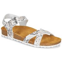 鞋子 女士 凉鞋 André REFLEXE 白色