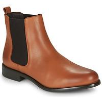 鞋子 女士 短筒靴 André CARAMEL 棕色