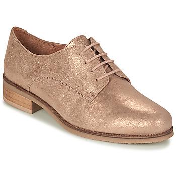 鞋子 女士 德比 André PANCAKE 金色