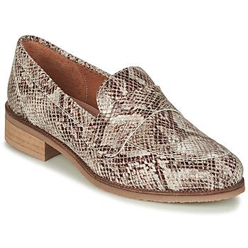 鞋子 女士 皮便鞋 André BABOUA 米色