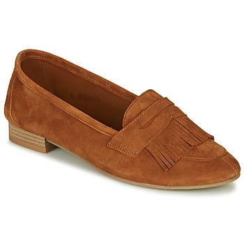 鞋子 女士 皮便鞋 André BARCELONA 驼色